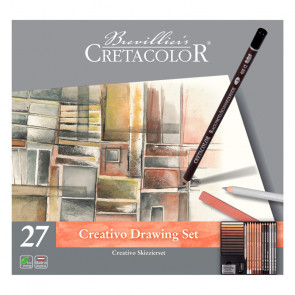SET CRETACOLOR CREATIVO DRAWING ASSORTIMENTO 27 PEZZI