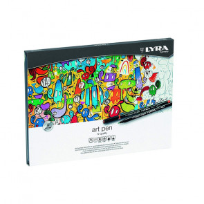 SET LYRA ART PEN 20 PENNARELLI ASSORTITI