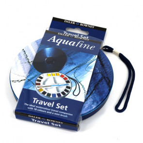 ACQUERELLI DALER ROWNEY TRAVEL SET AQUAFINE 18 ½ GODET