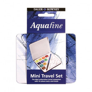 ACQUERELLI DALER ROWNEY MINI T RAVEL SET AQUAFINE 10 ½ GODET