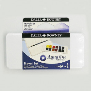 ACQUERELLI DALER ROWNEY TRAVEL SET AQUAFINE 12 ½ GODET