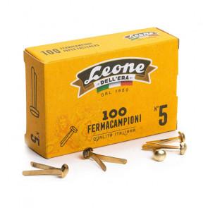 FERMACAMPIONI N.5 24mm SCATOLA 100 PEZZI