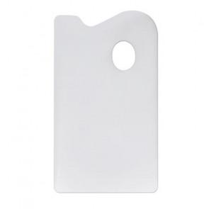 TAVOLOZZA IN PLASTICA DUE FACCE LISCIA/RUVIDA 14X27,5 cm