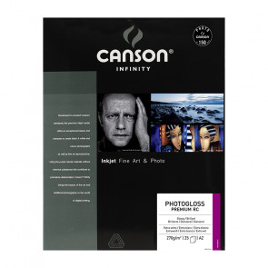 CANSON PHOTOGLOSS PREMIUM RC 270 g/m² A2 42x59,4cm 25 FOGLI