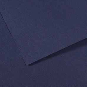 CARTONCINO MI-TEINTES 50X65cm 160 g/m² BLEU INDIGO N. 140