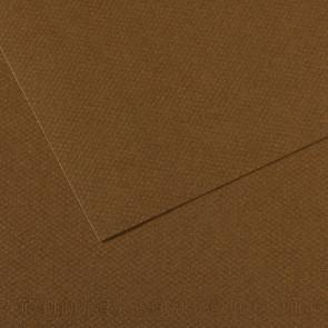 CARTONCINO MI-TEINTES 50X65cm 160 g/m² MARRONE SCURO N.501