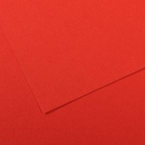 CARTONCINO MI-TEINTES 50X65cm 160 g/m² COQUELICOT N. 506