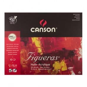 BLOCCO CANSON FIGUERAS 42X56cm 10 FOGLI 290 g/m²