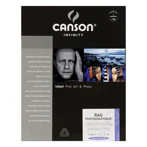 CANSON RAG PHOTOGRAPHIQUE 310g A4 (21X29.7) 25 f 100% COTONE