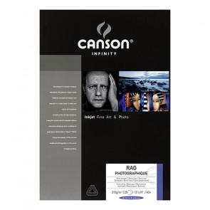 CANSON RAG PHOTOGRAPHIQUE 310g A3+ 32.9X48.3 25f 100% COTONE