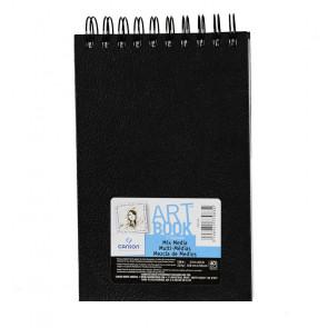ART BOOK C À GRAIN 14X21,6 cm 40 FOGLI 224 g/m² RIL. SPIRALE