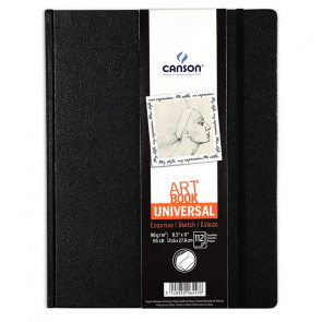CANSON ART BOOK UNIVERSAL 21,6X27,9 cm 112 PAGINE 96 g/m²
