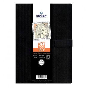 CANSON ART BOOK 180° 80 F. 96 g/m² A4 COPERTINA RIGIDA