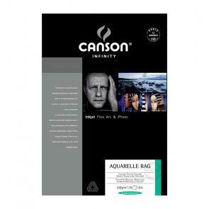 CANSON AQUARELLE RAG A3+ 32,9X48,3 240g 25 FOGLI
