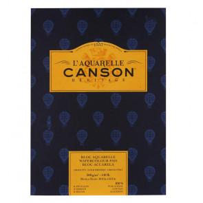 BLOCCO CANSON HERITAGE 26X36cm 12 FF 300 g/m  GRANA FINE
