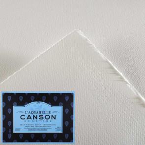 CARTA CANSON HERITAGE 56X76 cm FOGLIO 300 g/m  GRANA TORCHON