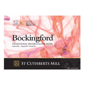 BLOCCO BOCKINGFORD 29,7X42 cm 12 FF 300 g/m  HP WHITE