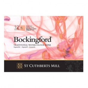 BLOCCO BOCKINGFORD 21X29,7 cm 12 FF 300 g/m  HP WHITE