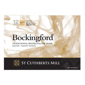 BLOCCO BOCKINGFORD 29,7X42 cm 12 FF 300 g/m  ROUGH WHITE