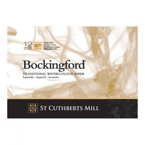 BLOCCO BOCKINGFORD 21X29,7 cm 12 FF 300 g/m  ROUGH WHITE