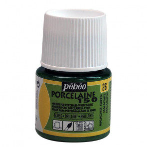 PEBEO PORCELAINE 150 45 ml    26 MALACHITE GREEN