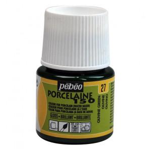 PEBEO PORCELAINE 150 45 ml    27 OLIVINE GREEN
