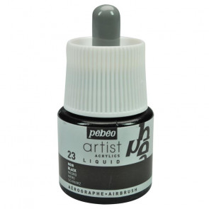 ACRILICO PEBEO COLOREX TECHNIC 45 ml BLACK
