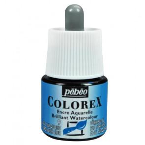 PEBEO COLOREX WATERCOLOUR 45ml 09 TURQUOISE BLUE