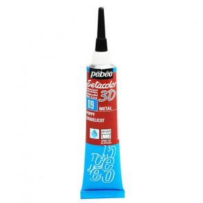 SETACOLOR 3D N. 09 TUBO 20 ml METAL PAPAVERO