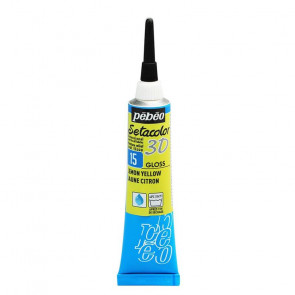 SETACOLOR 3D TUBETTO 20 ml    15 GLOSS LEMON YELLOW