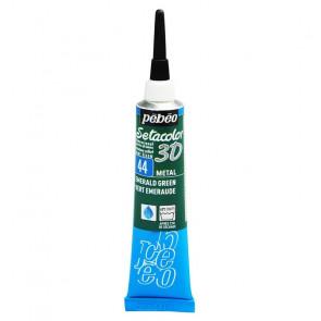 SETACOLOR 3D TUBETTO 20 ml    44 METAL EMERALD GREEN