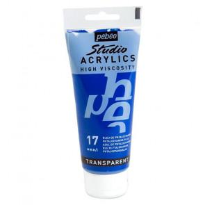 PEBEO STUDIO ACRYLICS 100 ml  17 PHTALOCYANINE BLUE