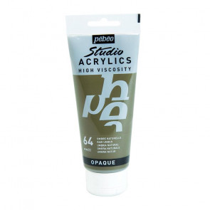 PEBEO STUDIO ACRYLICS 100 ml  64 RAW UMBER