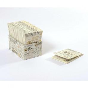BLOCCHETTO MEMO KARTOS 8,5X12,5 cm - CALLIGRAPHY