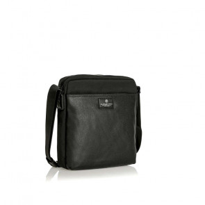 TRACOLLA SPALDING CROSS BODY  BARK LINE COLORE NERO