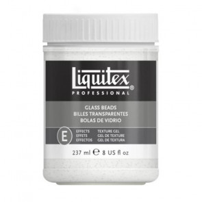 LIQUITEX GEL GLASS BEADS      237 ml