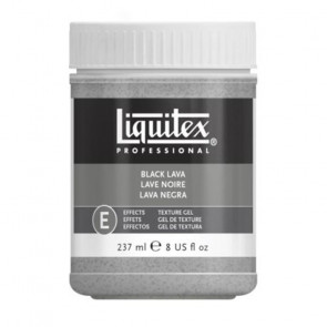 LIQUITEX GEL BLACK LAVA       237 ml