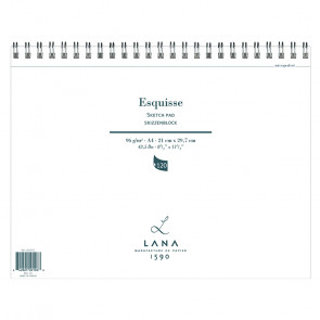 BLOCCO LANA ESQUISSE A4 120 FOGLI 96 g/m²