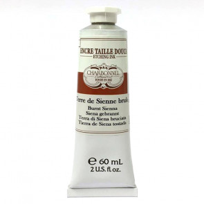 CHARBONNEL ENCRE TAILLE DOUCE S2 TERRE SIENNE BRULEE 60 ml