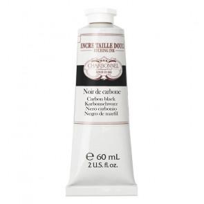 CHARBONNEL ENCRE TAILLE DOUCE S2 NOIR DE CARBONE 60 ml