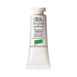 TEMPERA WINSOR & NEWTON 14 ml N.046 BRILLIANT GREEN S1