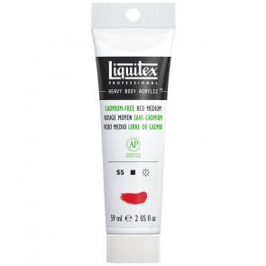 LIQUITEX HEAVY BODY 59 ml S5  894 CADMIUM-FREE RED MEDIUM