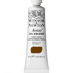 COLORE A OLIO ARTISTS 37ml S1 N.076 BURNT UMBER