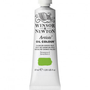 COLORE A OLIO ARTISTS 37ml S4 N.084 CADMIUM GREEN PALE