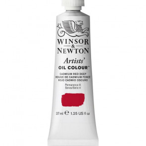 COLORE A OLIO ARTISTS 37ml S4 N.097 CADMIUM RED DEEP