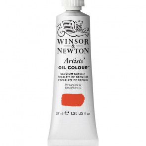 COLORE A OLIO ARTISTS 37ml S4 N.106 CADMIUM SCARLET