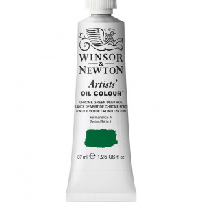COLORE A OLIO ARTISTS 37ml S1 N.147 CHROME GREEN DEEP HUE