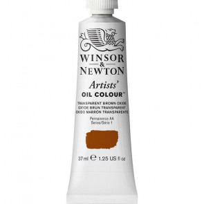 COLORE A OLIO ARTISTS 37ml S1 N.648 TRANSPARENT BROWN OXIDE