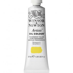 COLORE A OLIO ARTISTS 37ml S4 N.653 TRANSPARENT YELLOW