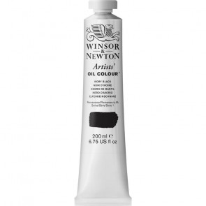 COLORE A OLIO ARTISTS 200ml S1 N.331 IVORY BLACK